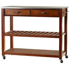 kitchen island cart with stainless steel top modern stainless steel kitchen islands carts allmodern