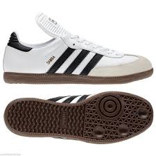 white samba indoor soccer shoes adidas samba classic soccer shoes white