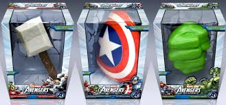 captain america shield light target target 3d wall art thor hammer captain america shield and hulk fist