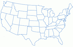map of the united states of america with state names usa map