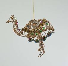 wire ostrich ornament katherine s collection