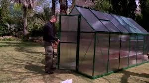 Palram Hybrid Greenhouse Serre De Jardin Palram Mythos Fr Youtube