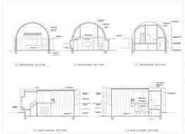 quonset house design loft guest house clever moderns