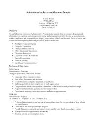 inspiration office administrative resume sles for chronological