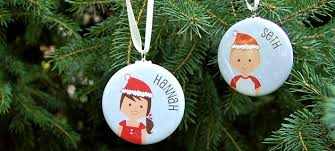 christmas personalized new personalized christmas ornaments abraham