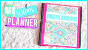 homemade planner templates diy school planner 2015 nikki g youtube diy school planner 2015 nikki g