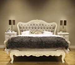 sophia button upholstered french bed french bedroom furniture