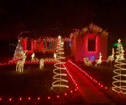 christmas red and white outdoor christmas lights adorable