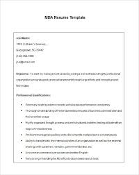 Objective For Mba Resume Sample Resume For Mba Graduate College Resume Sample Mba Graduate