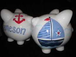 Monogrammed Piggy Bank 219 Best Bank And Boxe Images On Pinterest Piggy Banks Pig