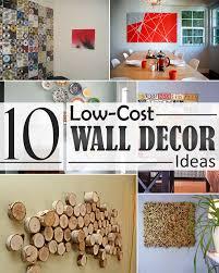 diy cheap wall decor ideas 2016 excellent design inexpensive