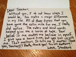 christmas gift ideas for teachers a handwritten
