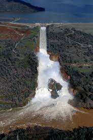 use of untested emergency spillway yet again a possibility at