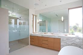 Mid Century Modern Bathroom Vanity Grey Matt Wall Ceramic Tiles Mid Century Modern Bathroom Lighting