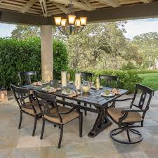 Patio Furniture 7 Piece Dining Set - broadway 7 piece dining set
