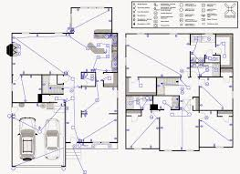Layout Floor Plan by Floor Plan With Electrical Layout Golkit Com