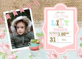 2nd Birthday Invitation Card Diy Birthday Invitations Youtube