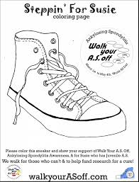 astonishing sneaker coloring rugrats coloring pages