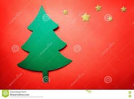 handmade paper craft christmas tree stock photo image 77805652