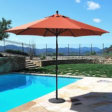 Backyard Umbrellas 11 U0027 Galtech Patio Umbrellas Galtech Market Umbrellas