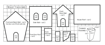 printable model house template paper house template free documents download free house paper craft