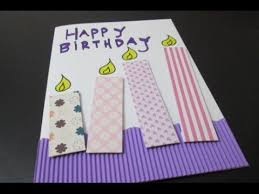 diy 23 birthday card youtube