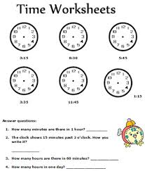 second grade math activities time worksheets for prek elementary schools free time