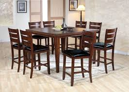 Acme Furniture Dining Room Set Set Breakfast Furniture Counter Height Table And 4 Chairs Ebay