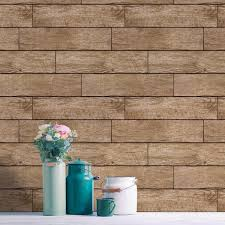 wood planks light chestnut tempaper removable wallpaper u2013 home smith