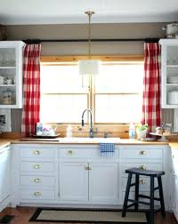 Kitchen Window Curtains Curtain For Kitchen Window Kitchen Rod Above The Could