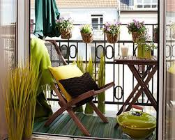 outdoor and patio corner balcony ideas mixed with wooden fence