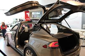tesla inside hood monopost design for tesla model x 2nd row seats electric cars
