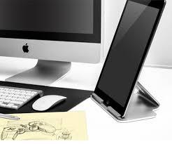 ultimate aluminum desktop stand for apple ipad pro surface pro