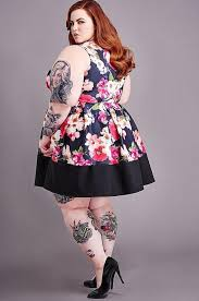 plus size pin up dresses holiday dresses