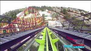 Six Flags New England Map by Medusa At Six Flags Discovery Kingdom Youtube