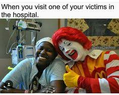 Mcdonalds Meme - instagram meme pennywise the clown from stephen king s it and