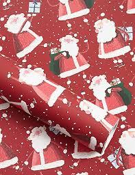 christmas wrapping paper santa jumbo christmas wrapping paper 14m m s