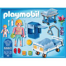 chambre playmobil chambre de maternité playmobil city 6660 la grande récré