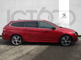 peugeot used car finance peugeot 308 s s sw gt line 17 052
