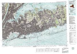 New Jersey New York Map by New York Topo Maps Topographic Maps 1 100 000