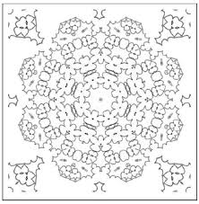 mosaic coloring pages mosaic color number coloring pages u2013 kids