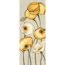 jaune gris panel i poster print by shirley novak walmart com