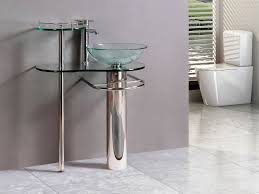 Glass Bathroom Sink Vanity Amazing Bathroom Vanities With Vessel Sinks Inspiration Home Designs