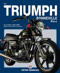 the triumph bonneville bible all models 1959 1983 does not cover