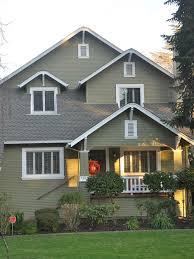 exterior house color schemes brown roof home design judea us