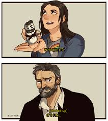 Wolverine Picture Meme - wolverine and laura x 23 the intrests of a cool modern nerd