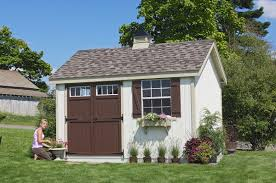 cool shed with gray color wall design ideas with gray laminated