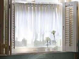 Diy Window Curtains From Canvas Or Dropcloth Network Blog Simple - Simple kitchen curtains