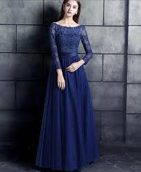 3 4 sleeve bridesmaid dresses royal blue lace tulle modest bridesmaid dresses 3 4 sleeves