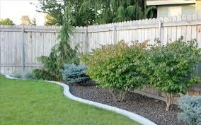 fenced backyard landscaping ideas backyard fence ideas